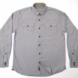 REI Men's Long Sleeve Button Front Shirt Size S